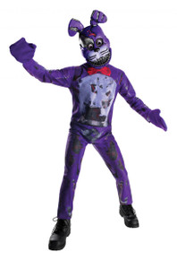 Five Nights at Freddy's Licensed Nightmare Bonnie Kid's Costume