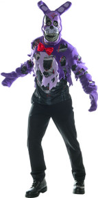 Five Nights at Freddy's Licensed Nightmare Bonnie Teen Costume