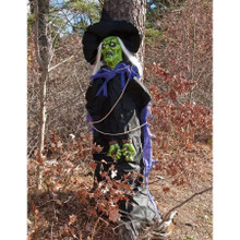 Tree Hugger Witch Prop