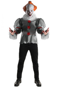 IT The Movie Licensed Pennywise Adult Deluxe Costume