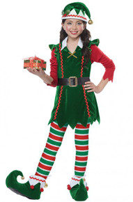 Festive Elf Kid's Costume