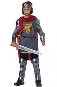 Medieval King Kid's Costume King Arthur