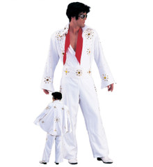 Elvis Jumpsuit 3 Piece with Studs and Stones