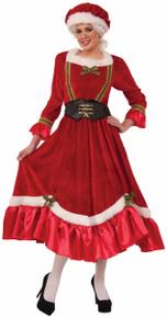 Mrs. Claus Dress Mob Hat & Corset Belt 14/16