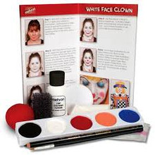 Clown Makeup Kit with Accessories