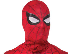 Spiderman Mask Adult One size Fabric Hood
