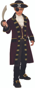 Buccaneer Captain Kids Costume