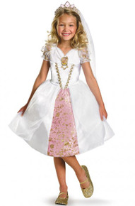 Disney Princess Licensed Tangled Rapunzel Wedding Gown