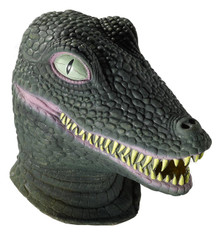 Crocodile Mask Deluxe Latex Full over the Head
