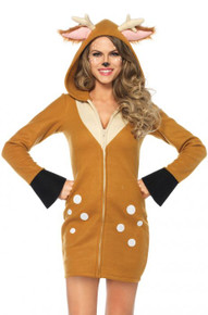 Cozy Fawn Adult Costume