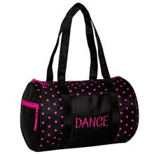Dots Duffle Bag Black