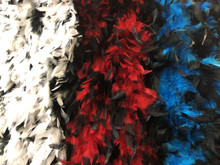 Chandelle Boa 80 Gram with Dyed Tips Appox. 6 ft.