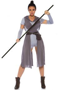 Galaxy Rebel Romper Womens Adult Costume