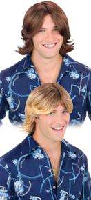 50's Ladies Man Wig w/ Flip Hair