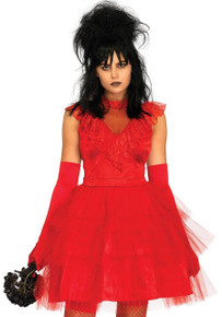 Beetle Bride Dress Womens Costume