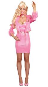 Beauty-Licious Doll Women's Pink Barbie Dress