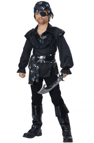 Skull Island Pirate Kids Costume