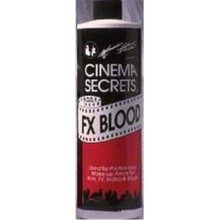 FX Blood Pro Theatrical Fake Blood Big Bottles