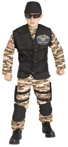 S. F. Commando Seal Team Speical Forces Child Costume