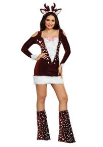 Deer Me! Womens Adult Dress