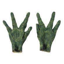 Alien Gloves Green Four Fingered