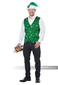 Holiday Vest Adult Costume
