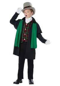 Holiday Caroler Boy Kid Costume