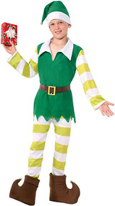 Jingles the Elf Childs Costume