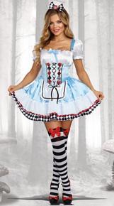Beyond wonderland adult plus size Alice costume