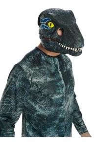Jurassic world blue adult mask moveable jaw
