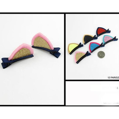 cat shape hair clips