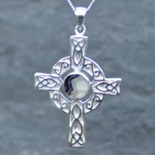 Blue John Celtic Cross Pendant 065BJS