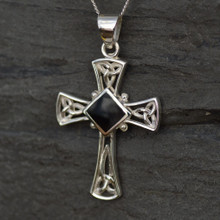 Whitby Jet Celtic Cross