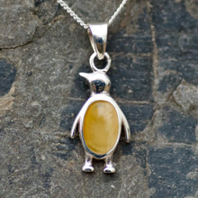 baltic amber and sterling silver necklace