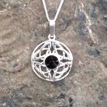 Whitby Jet celtic jewellery