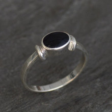 whitby jet rings
