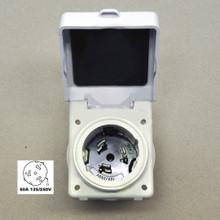Hubbell 50 amp 125/250V Marine / RV Power Cord Twist Lock Inlet HBL504NM