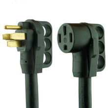 RV Extension Power Cord 25' 50 amp with Grip Handles