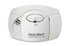 First Alert Carbon Monoxide CO Detector Alarm Battery Powered