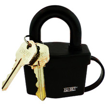 "NU-SET 2-1/2"" 64mm Weatherproof Padlock - Keyed Alike, Master Keyed Available"