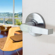 Commercial Grade 2 Passage Lever Satin Chrome