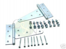 "6"" Heavy Duty Zinc T-Hinge - Brand New"
