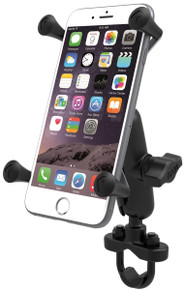RAM Motorcycle Bike Handlebar Rail Mount X-Grip Cell Phone Holder iPhone 6 Plus