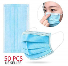 Disposable Face Mask Pack of 50