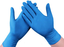 Nitrile Disposable Gloves, 4 Mil, Powder Free, Box of 100