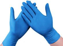 Nitrile Disposable Gloves, 4 Mil, Powder Free, Box of 100