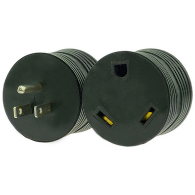 Rv Electrical Adapter Plug 15 Amp Male To 30 Amp Female