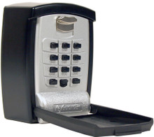 KeyGuard Pro Wall Mount Key Storage Lock Box Push Button Lockbox for Seniors, Medical Emergency