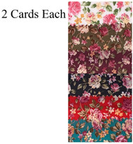 SCRUNCHIES PATTERN 2 PCS CARD / 2 CARDS FOR EACH COLOR