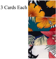 SCRUNCHIES PATTERN 2 PCS CARD /3 CARDS FOR EACH COLOR
